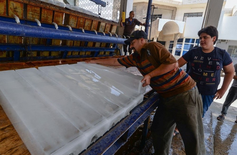 Temperature exceeded 50 degrees in the shade in Iraq: Ice demand exploded - 6