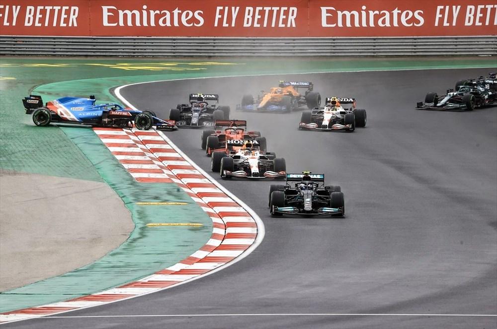 Formula 1 Türkiye Grand Prix'sinde kazanan Valtteri Bottas - 12