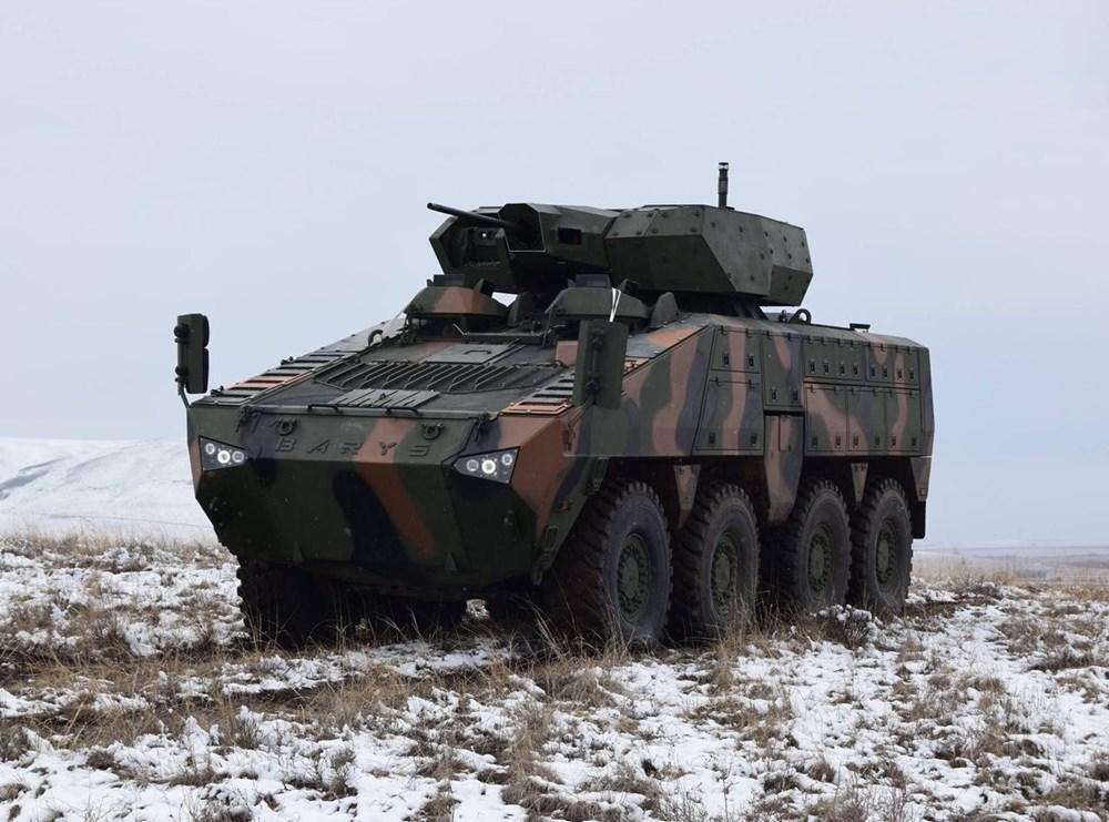 Dijital birliğin robot askeri Barkan göreve hazırlanıyor (Türkiye'nin yeni nesil yerli silahları) - 219