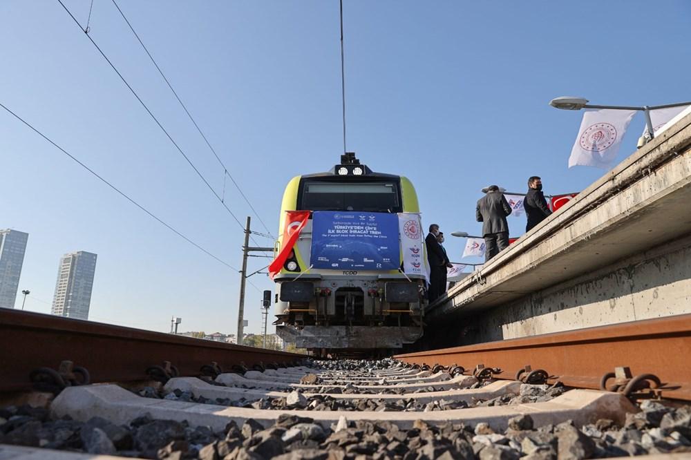 Türkiye'den Çin'e gidecek ilk ihracat treni İstanbul'dan uğurlandı - 9