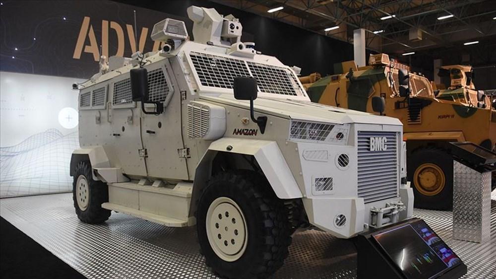 Dijital birliğin robot askeri Barkan göreve hazırlanıyor (Türkiye'nin yeni nesil yerli silahları) - 132