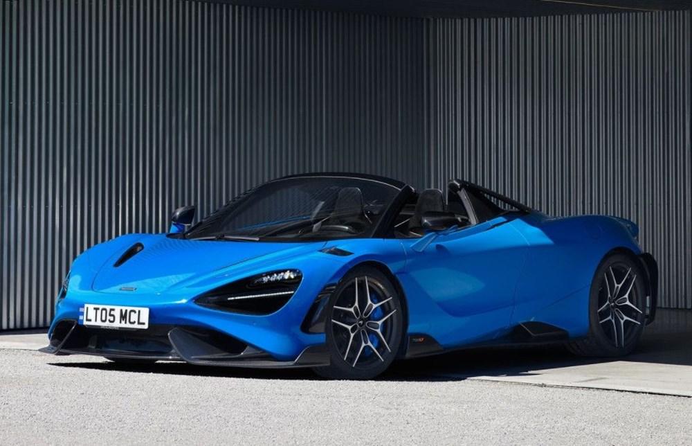 McLaren tarihinin en hızlı üstü açık modeli tanıtıldı:  765LT Spider - 8