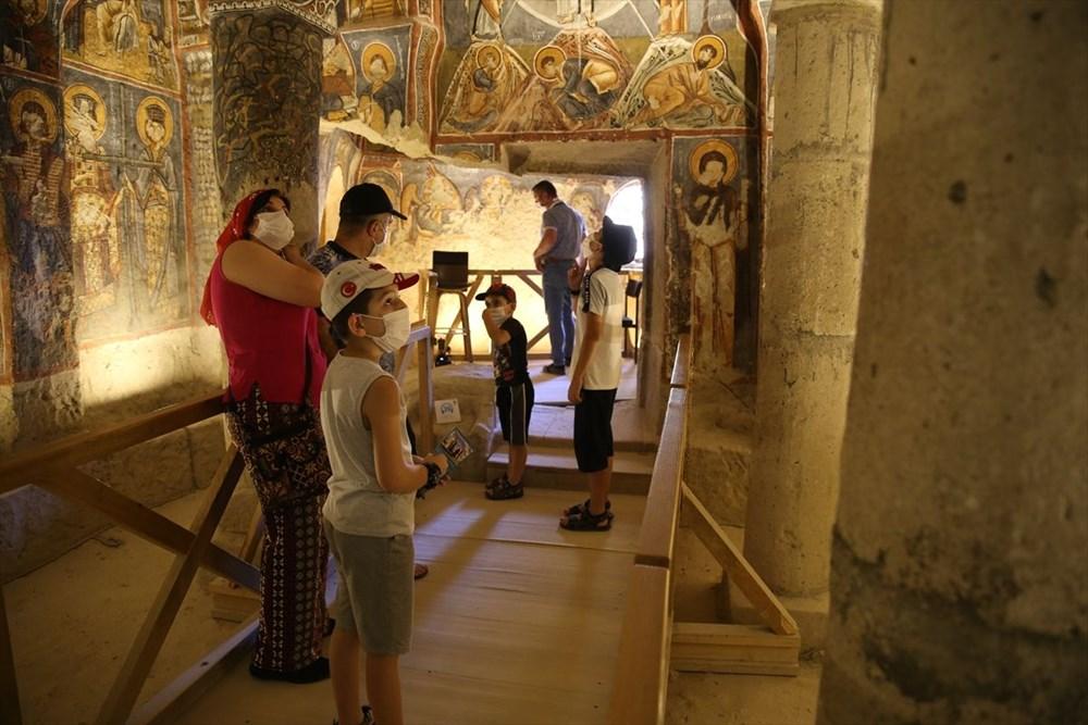 Karanlık Kilise'nin freskleri ile bin yıl öncesine yolculuk - 11