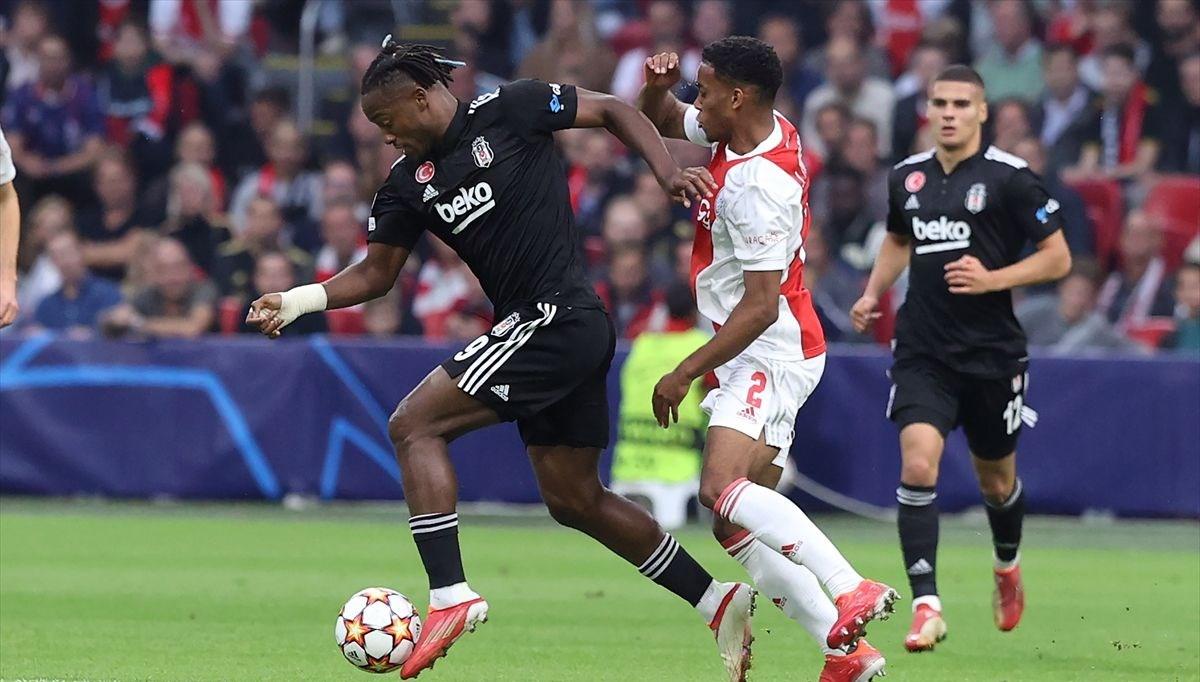 SON DAKİKA: Beşiktaş deplasmanda Ajax'a yenildi