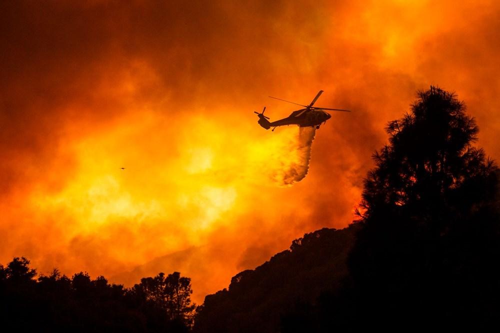 ABD'de 40 bin dönümlük yangın - 9