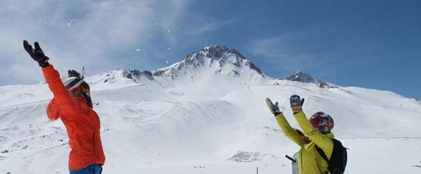 Kış turizminin parlayan yıldızı: Erciyes