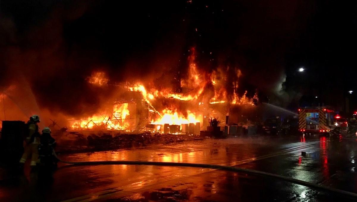 Tayvan'da yangın faciası: 14 ölü, 51 yaralı