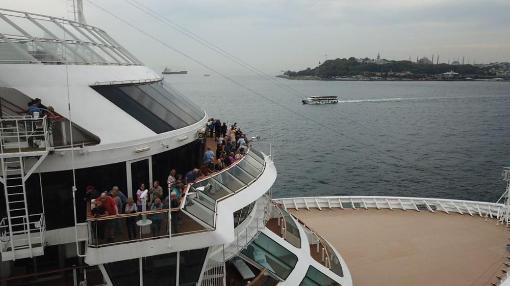 Galataport İstanbul'a ikinci yolcu gemisi demir attı - 8
