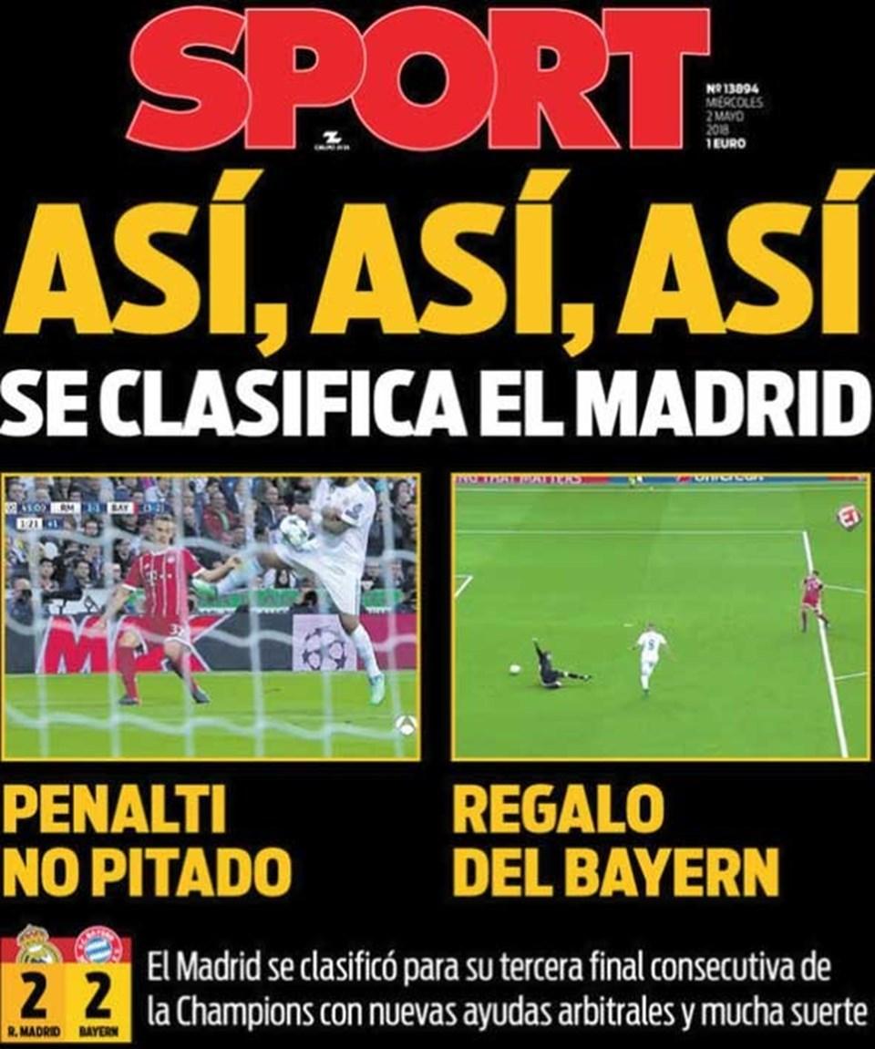 """""""Bir Madrid klasiği: Penaltı çalınmadı, Bayern'den hediye"""""""