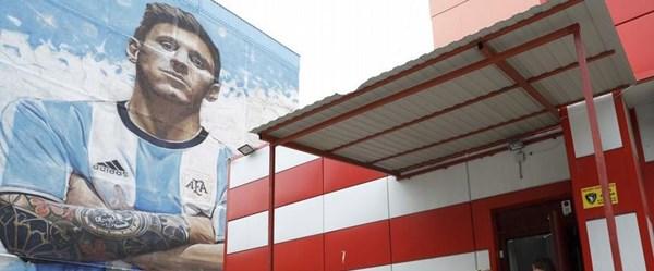 Messi gören küçük Rus kasabası