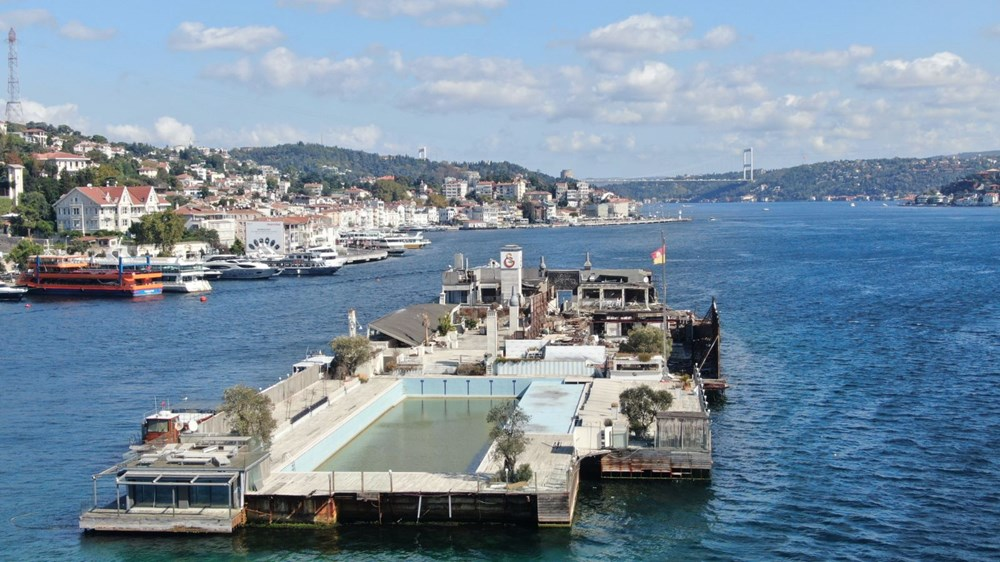 İstanbul Boğazı'nın ortasında moloz yığını - 8