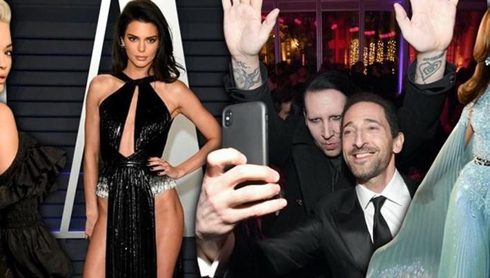 Ünlüler 2019 Vanity Fair Oscar partisinde buluştu (Oscar after party)