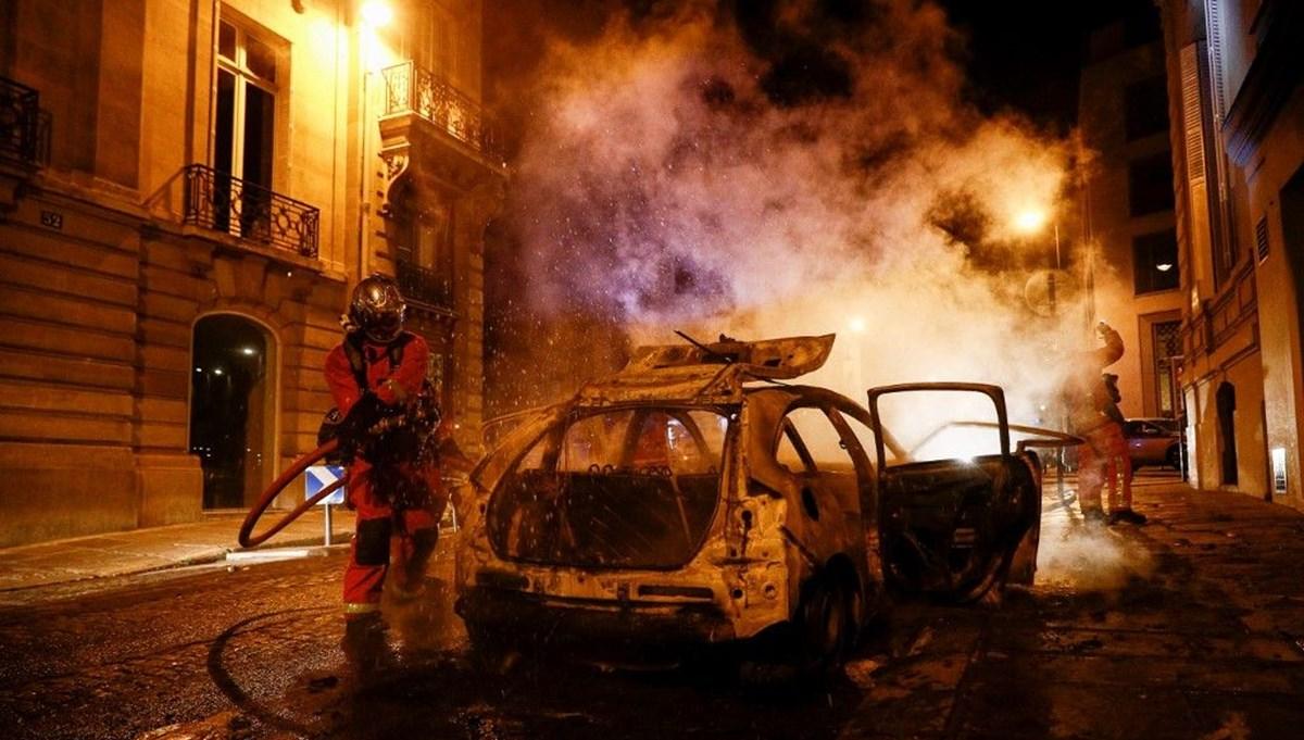 PSG finali kaybetti, Paris karıştı: 83 gözaltı