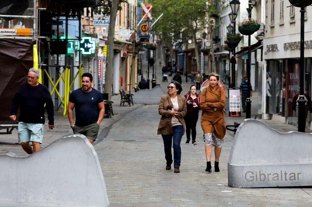 Yetişkin nüfusunun yüzde 90'ından fazlasını aşılayan Cebelitarık'ta hayat normale döndü - 4