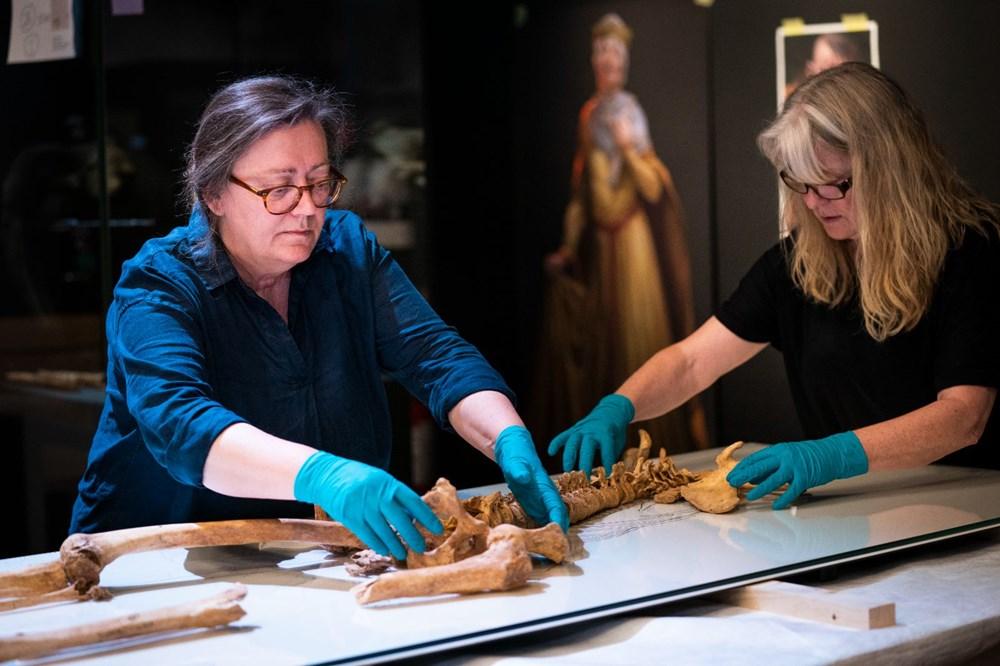 İki Viking savaşçısının kalıntıları Danimarka Ulusal Müzesi'nde - 1