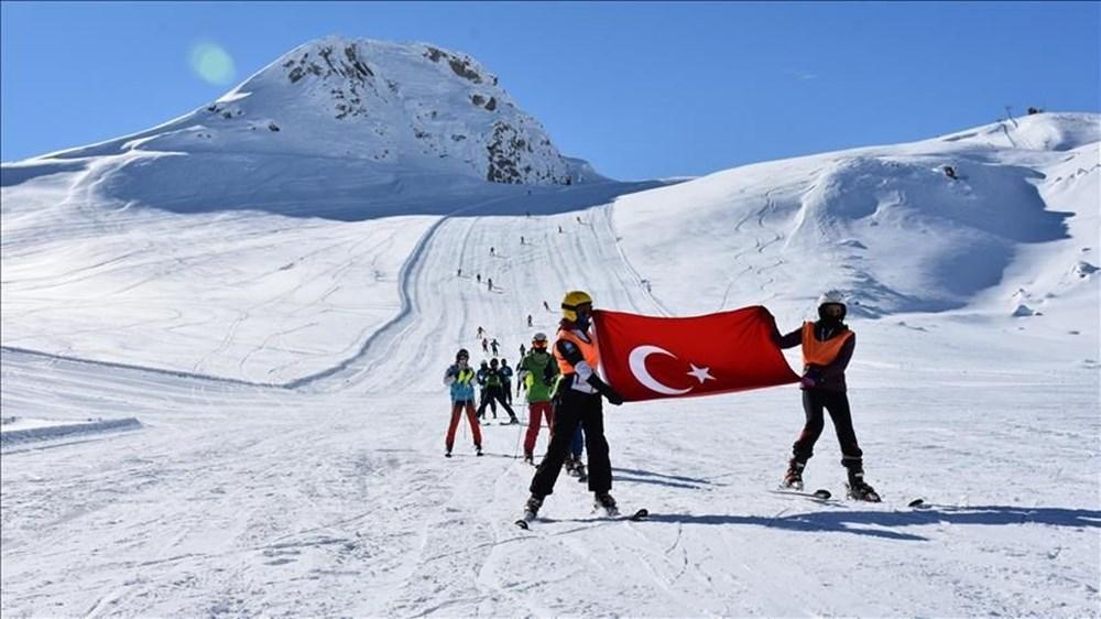 Burası Alp Dağları değil, Hakkari Merga Bütan Kayak Merkezi - 13