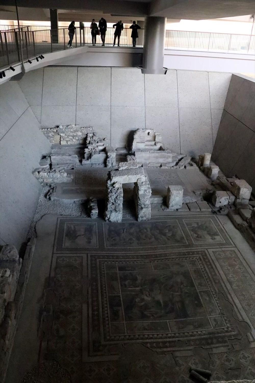 Hatay'da beş dönemin izlerini taşıyan Necmi Asfuroğlu Arkeoloji Müzesi ziyaretçilerini zaman yolculuğuna çıkarıyor - 13
