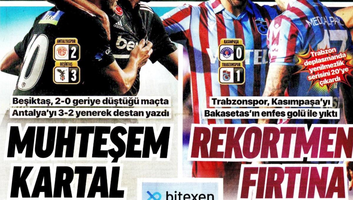 Günün spor manşetleri (19 Eylül 2021)