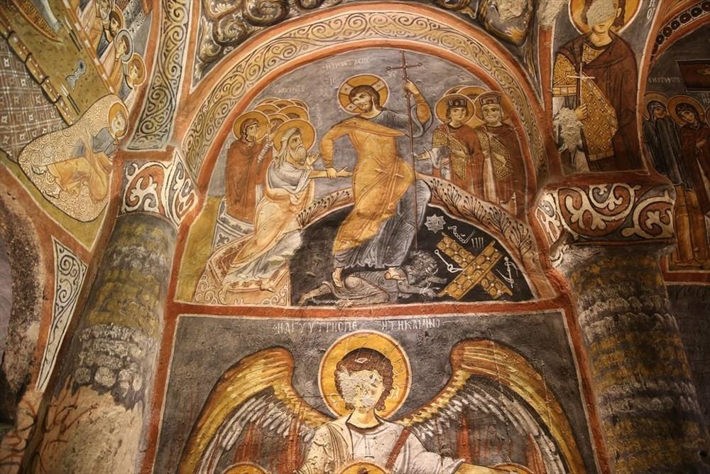 Karanlık Kilise'nin freskleri ile bin yıl öncesine yolculuk - 4