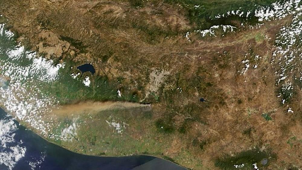 NASA Ankara'dan fotoğraf paylaştı (Astronotların gözünden gezegenimiz) - 18