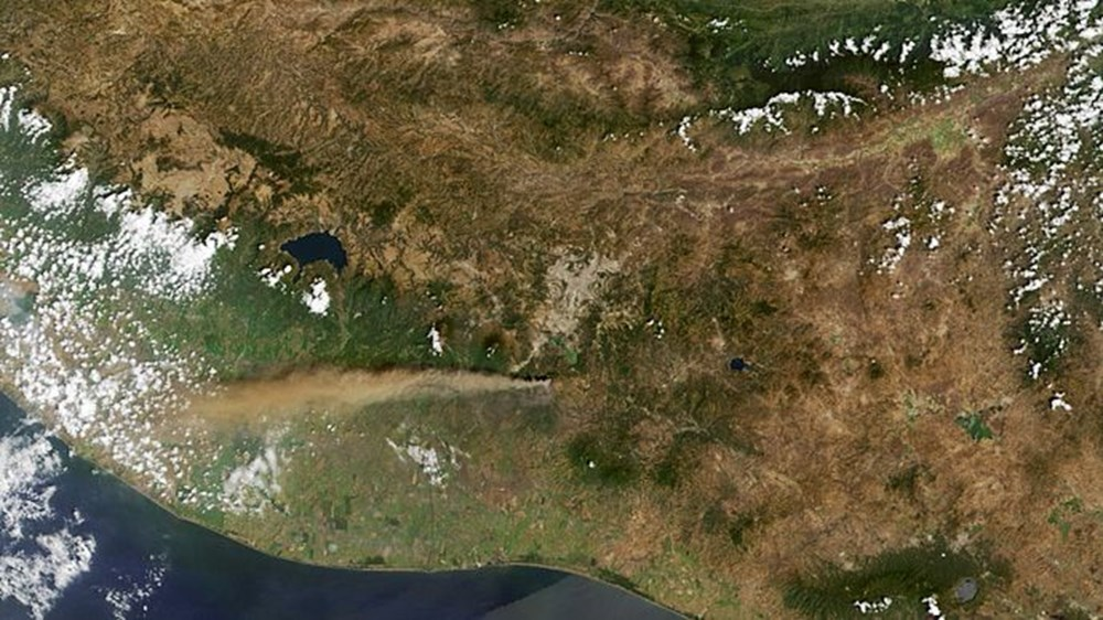 NASA'dan 'Ankara' paylaşımı (Astronotların gözünden gezegenimiz) - 18
