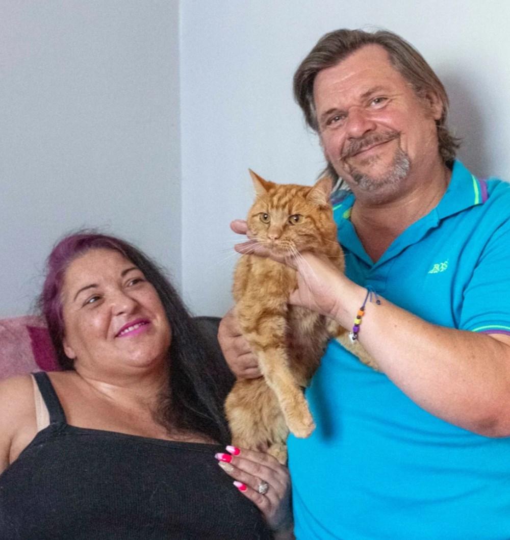 Garfield eski sahiplerini bulmak için 65 kilometre yolculuk yaptı - 4