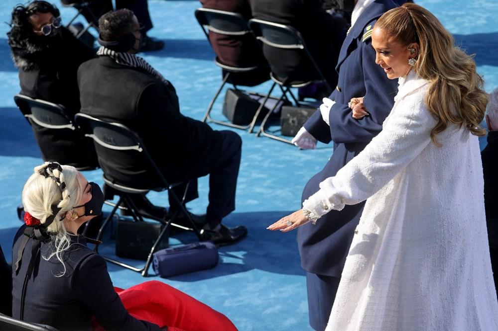 Yemin töreninde Jennifer Lopez'den İspanyolca mesaj - 9
