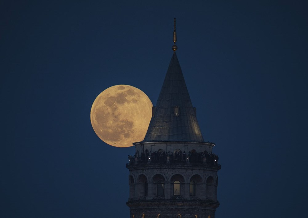 Yurttan 'Süper Solucan Ay' manzaraları - 13