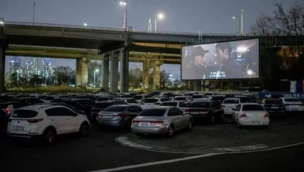 Güney Kore'de arabalı sinema dönemi
