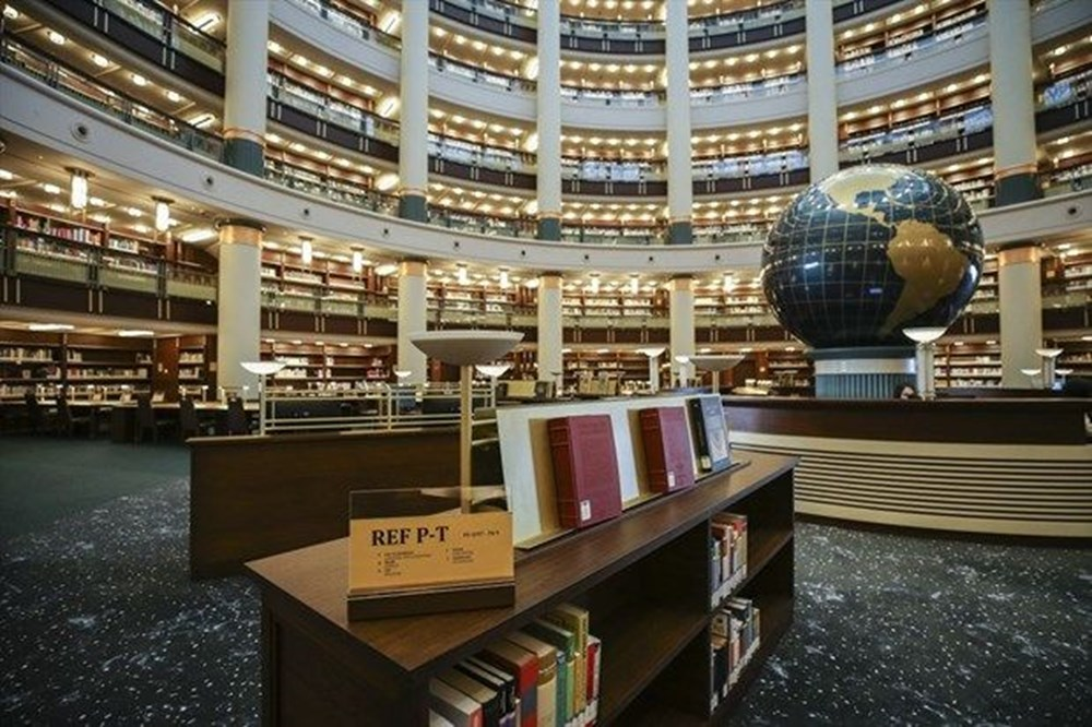 Cumhurbaşkanlığı Millet Kütüphanesi'ni 1 yılda yaklaşık 342 bin kişi ziyaret etti - 5