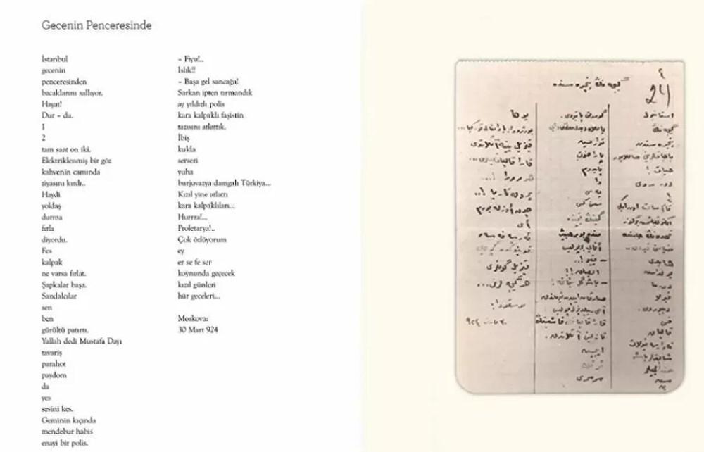 Nazım Hikmet'in yeni 5 şiiri bulundu - 4
