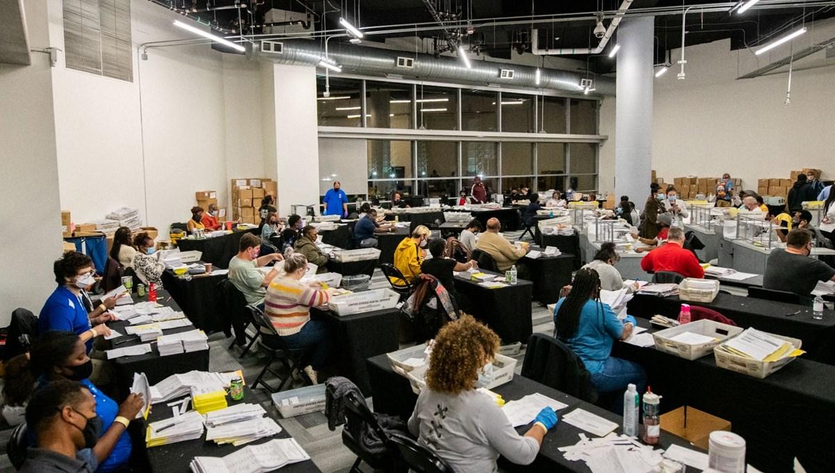 Georgia'da yeniden sayım sonucu değiştirmedi (Biden 12 bin oy farkla kazandı)