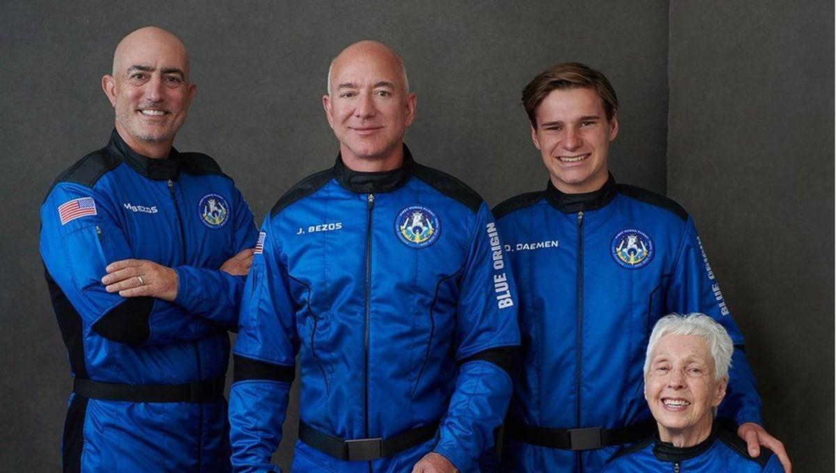 Dünyanın en zengin insanı Jeff Bezos uzaya gidiyor