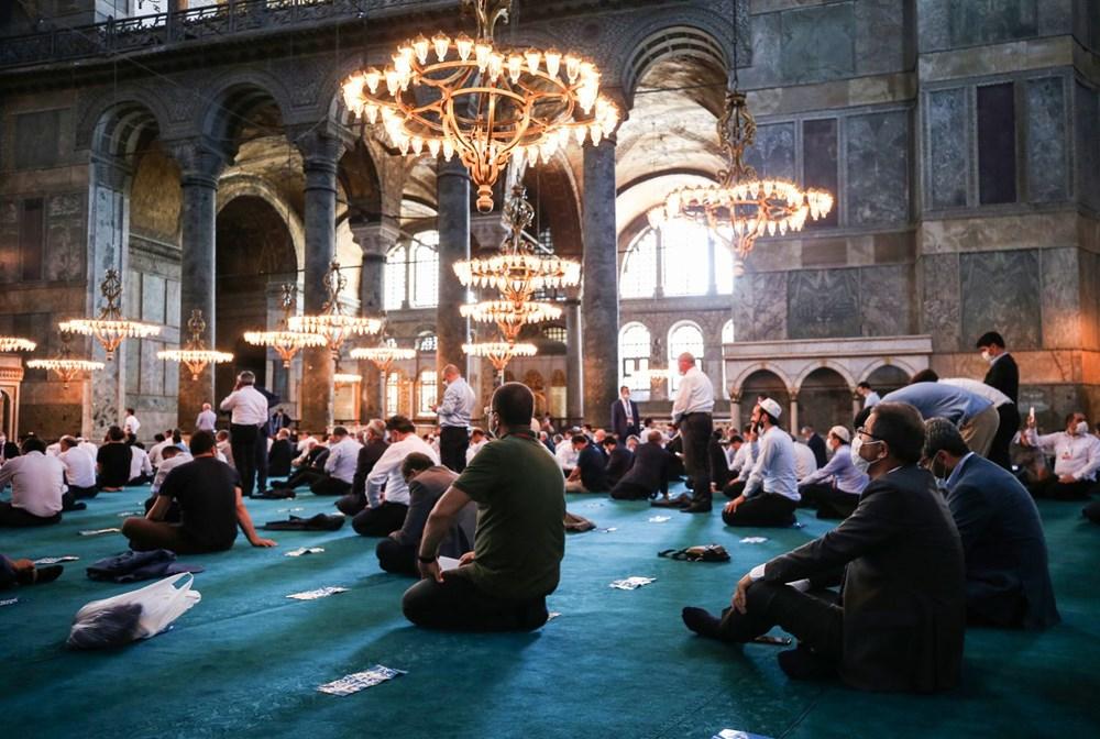Ayasofya-i Kebir Camii Şerifi ibadete açıldı (Ayasofya'da 86 yıl sonra ilk namaz) - 19