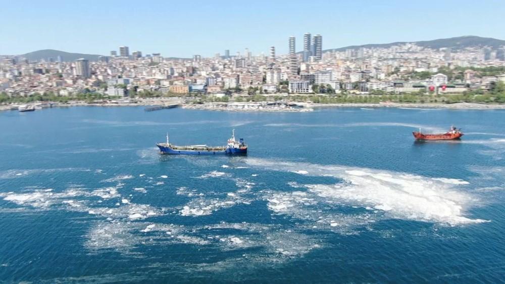 İstanbul sahillerini istila eden deniz salyalarında yoğunluk arttı - 5