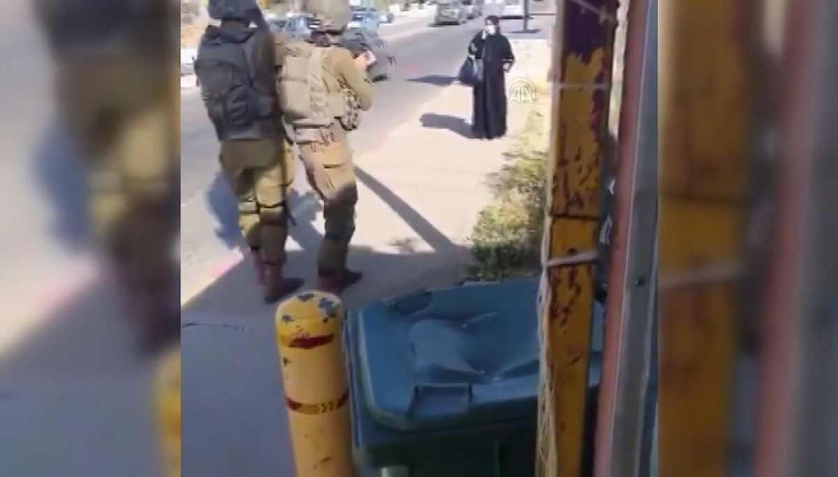 Israeli soldiers shoot Palestinian woman