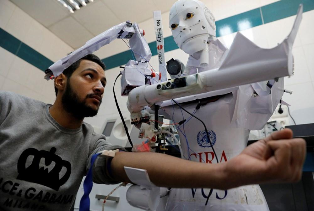 Mısır'da Covid-19'a karşı robotla mücadele - 5
