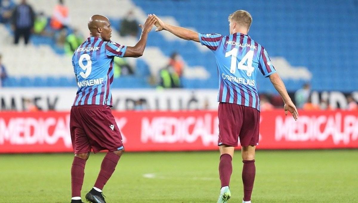 Trabzonspor'da gollere 3 oyuncu damga vurdu