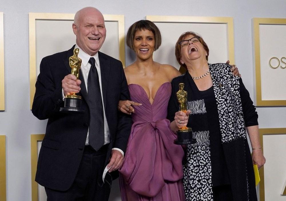 2021 Oscar Ödülleri sahiplerini buldu (93. Oscar Ödülleri'ni kazananlar) - 25