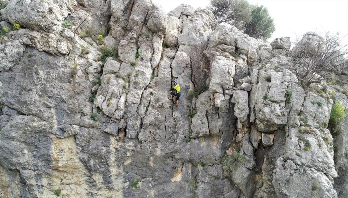 Dağcıların Çukurova'daki tırmanış rotası: Kapıkaya Kanyonu