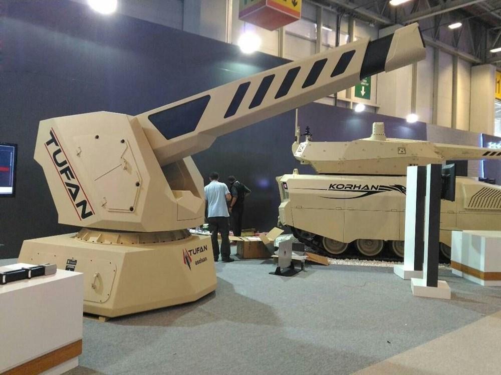Dijital birliğin robot askeri Barkan göreve hazırlanıyor (Türkiye'nin yeni nesil yerli silahları) - 250
