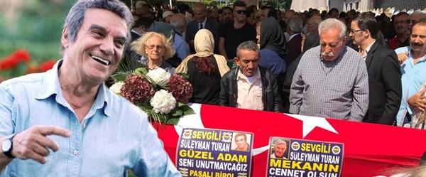 Usta oyuncu Süleyman Turan'a veda