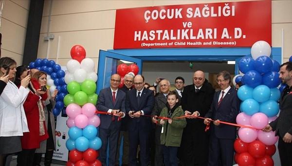 Cerrahpaşa çocuk kliniği yenilendi (En az bin hastaya hizmet verilecek)