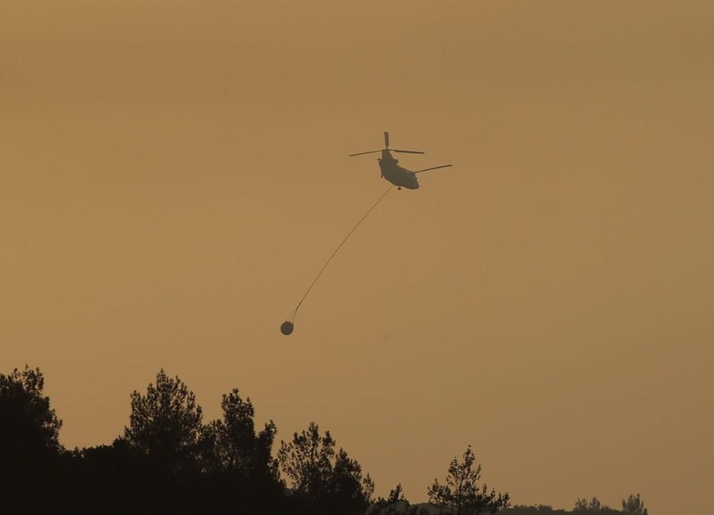 Mersin ve Hatay'da orman yangınları devam ediyor - 4
