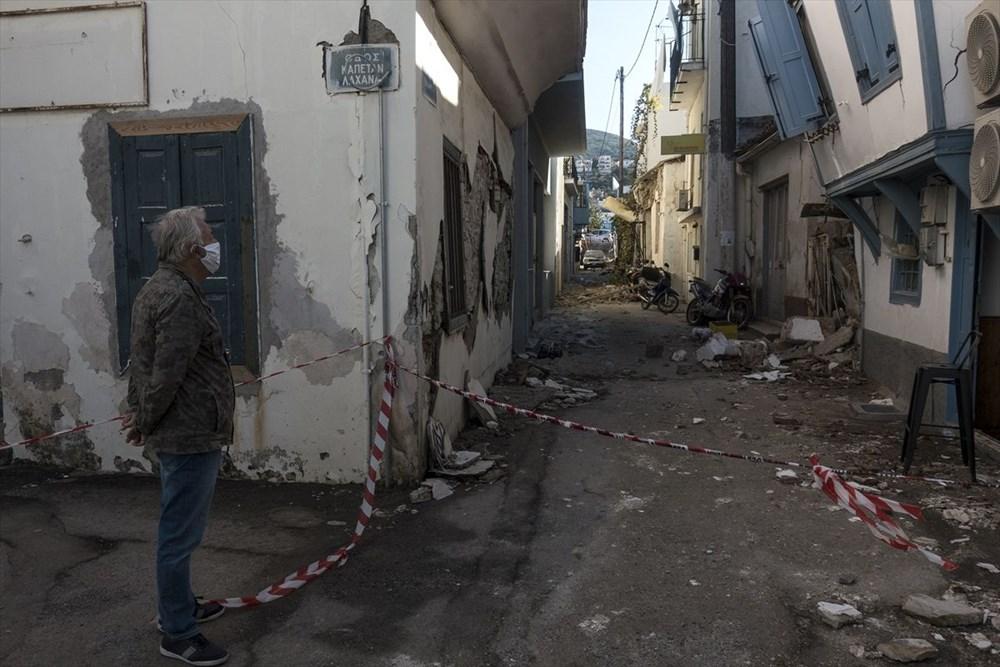 Depremin vurduğu Yunan adası Sisam'da son durum - 31