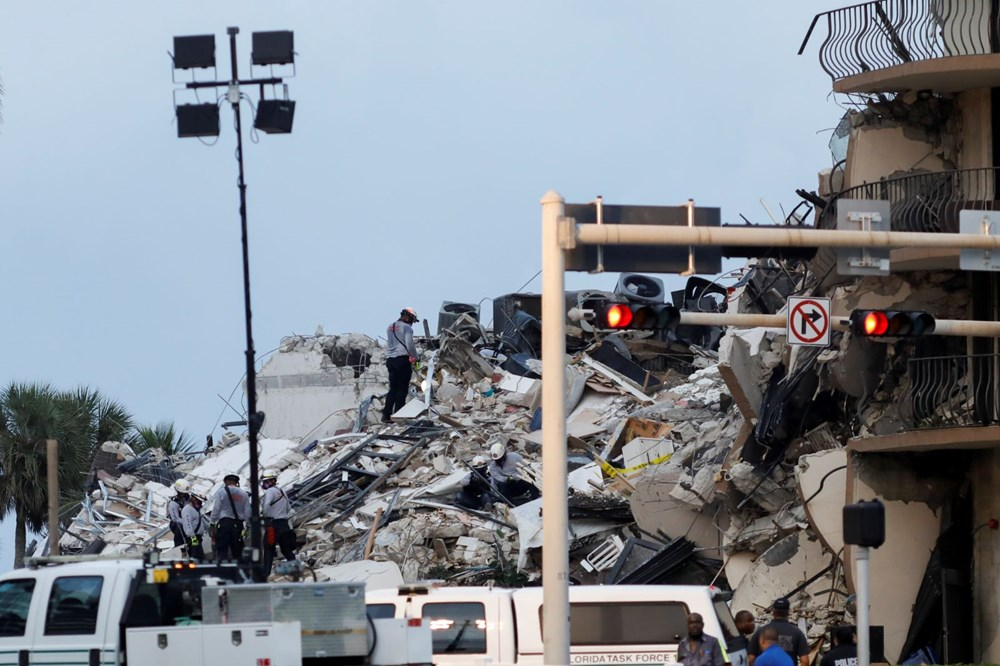 Building collapsed in the USA: Loss of life increased to 4, 159 people are missing - 1