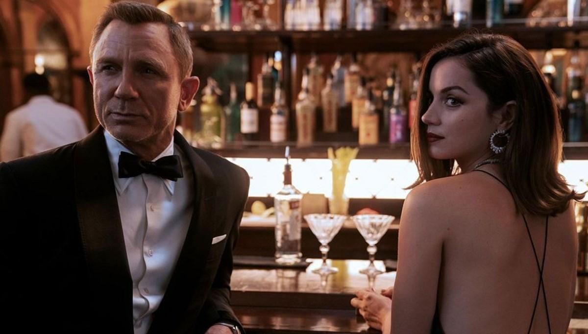 Son James Bond filmi No Time to Die 500 milyon dolar barajını aşmak üzere