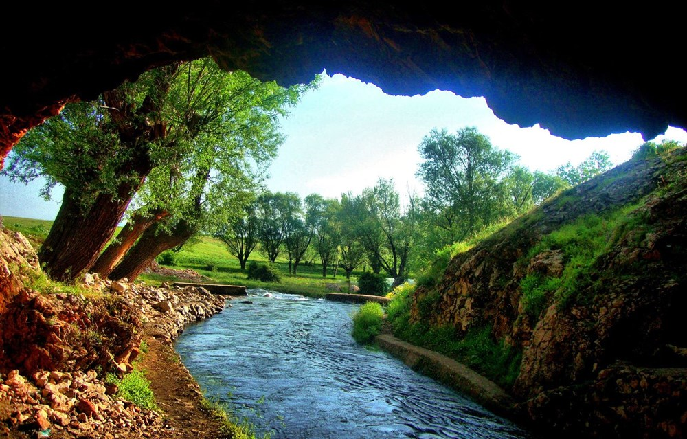 'Cave Eye' in Kahramanmaraş attracts attention with its natural beauty - 2