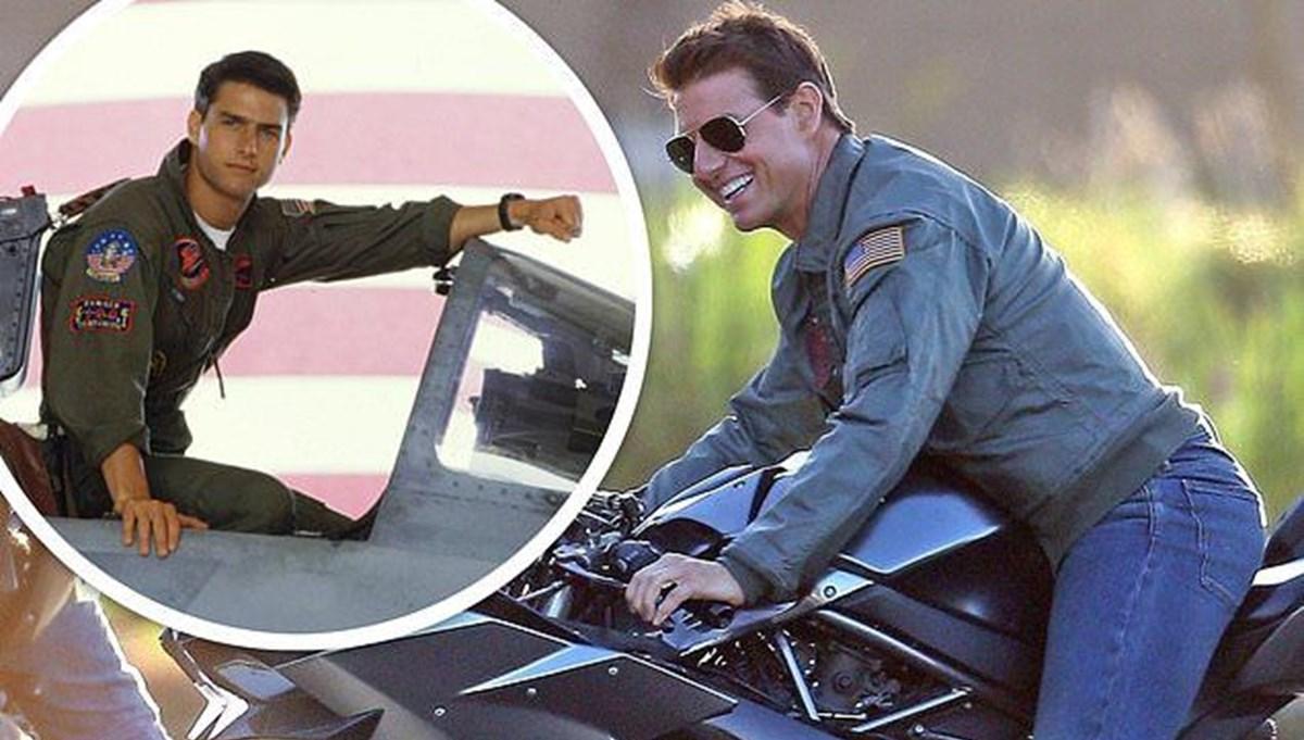 Tom Cruise yeni Görevimiz Tehlike (Mission: Impossible) filmi için pilotluk dersi almaya başladı
