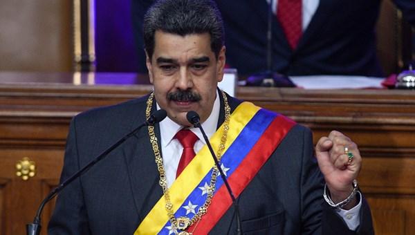 Venezuela Devlet Başkanı Nicolas Maduro,'ABD ne kadar büyük olsa da eğer iki ülke arasında saygı varsa, doğru bilgi alışverişi varsa, yeni bir ilişkinin kurulabileceğinden emin olun' dedi.